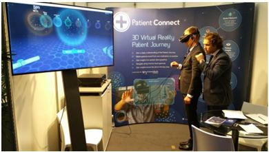 Realidad virtual 3D Patient Connect