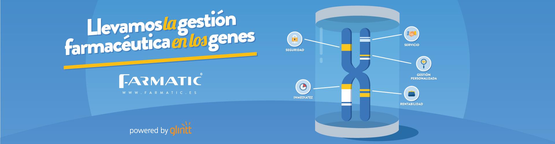 Farmatic : gestión farmaceútica en los genes